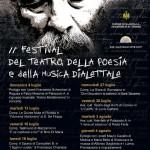 II edizione Festival del Teatro e della poesia Dialettale